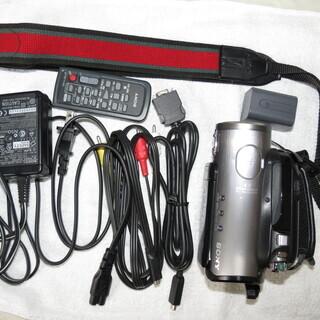 故障したSONY製ビデオカメラ:HDR-HC3とバッテリーチャー...