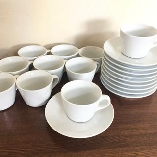コーヒーカップ&ソーサー  10セット