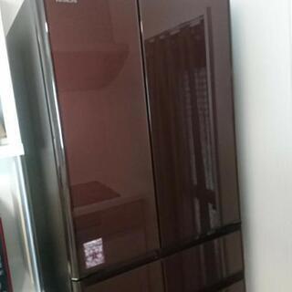 日立 冷蔵庫 6ドア 18年製 美品