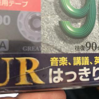 カセットテープ 90分