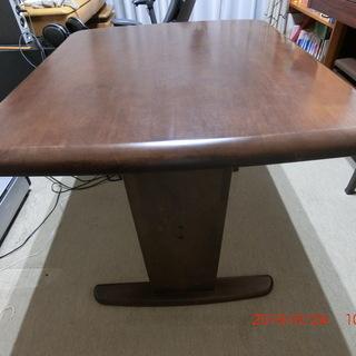 テーブル 組立式 サイズ110×110