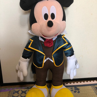 💜値下げ ミッキーマウスぬいぐるみ中古品の画像