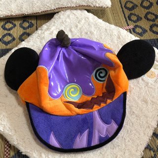 ミッキーマウス ハロウィン帽子値下げしました