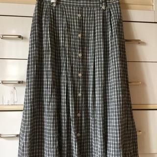 ワッフル状💕涼しげスカート美品