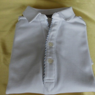 ユナイテッドアローズ ポロシャツ 白 L
