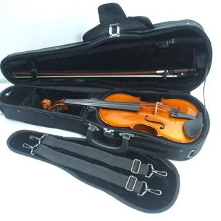 メンテ済み 分数 3/4 Andreas Eastman バイオリン VL-80 イーストマン 2015年 K SUGITO 国産 弓 毛替え済み アジャスター内蔵テールピース 手渡し 全国発送対応 おすすめ 中古バイオリン 愛知県清須市より - 売ります・あげます