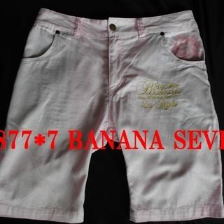 877*7 BANANA SEVEN バナナセブン ショートパンツ L