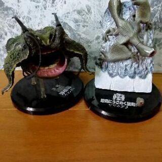 [1体 100円]モンハン 食玩 ギギネブラ&ヤマツカミ