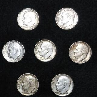 アンティーク硬貨 10¢(1950~1964年代)