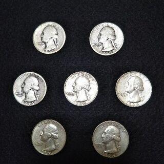 アンティーク硬貨 25¢(1936〜1964年)