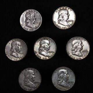アンティーク硬貨 50¢(1951〜1963年)