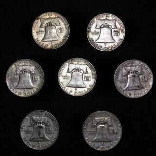 アンティーク硬貨 50¢(1951〜1963年) - 豊見城市