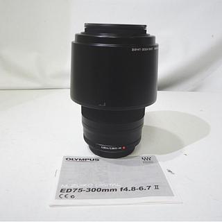 美品 オリンパス 75-300mm 1:4.8-6.7ⅡED M...