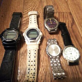 不要な時計……G-SHOCK等まとめて
