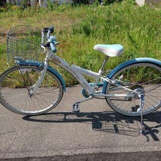 [受け渡し者決定]24インチ 子ども用自転車(女の子用)