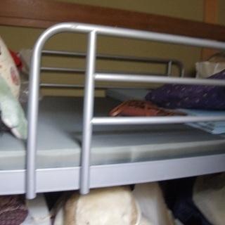 スチールパイプ2段ベッド