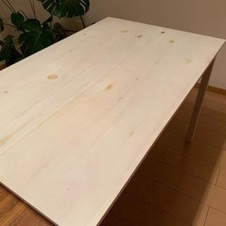白いテーブル譲ります