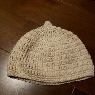手編み風どんぐり帽子 42-44㎝