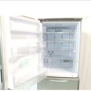 SHARP 冷蔵庫 350L シルバー 中古品
