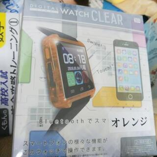 オレンジ スマートウォッチ android専用