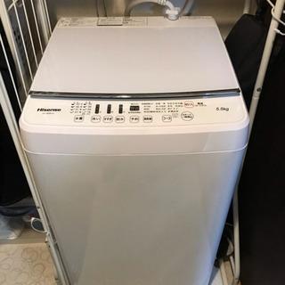 洗濯機5.5kg