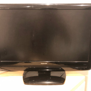 08年製REGZA22V型テレビ