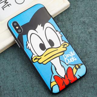 ドナルドダック iPhoneケース 浮き彫り加工 Disney ...