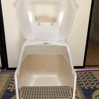 ドーム型猫トイレ 新古品 値下げしました(^ ^)