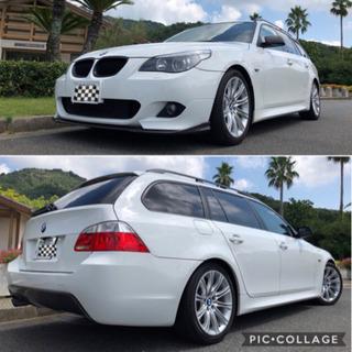 ☆☆ 必見 BMW  525i  ツーリング Mスポ 革シ…