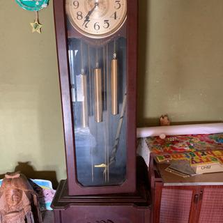 時計のオブジェ