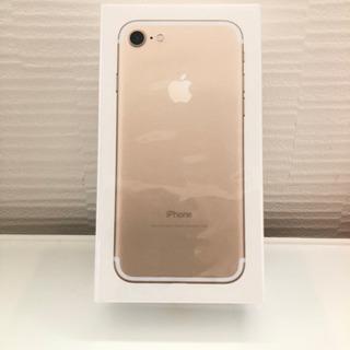 【新品未開封】iPhone7 ゴールド