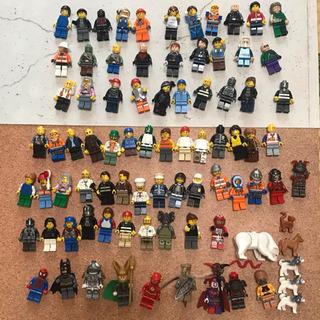 【正規品】レゴ ミニフィグ 大量 スパイダーマン バットマンなど