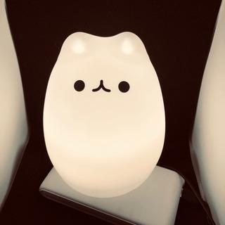 萌えにゃんこ 呼吸ランプ