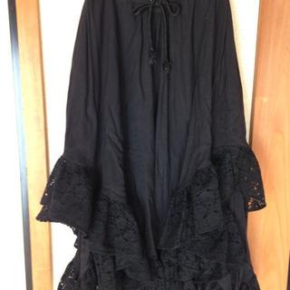 ゴスロリさんへ 黒レーススカート