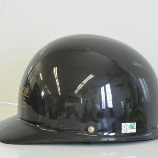 ハーフヘルメット ベースボールタイプ フリーサイズ W-120 ブラック 125㏄以下 原付バイク キャップ - 高松市