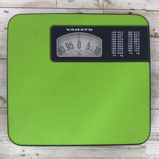 YAWTO アナログ体重計 グリーン