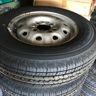 145R12  マルチタイヤ 新品未使用!4本
