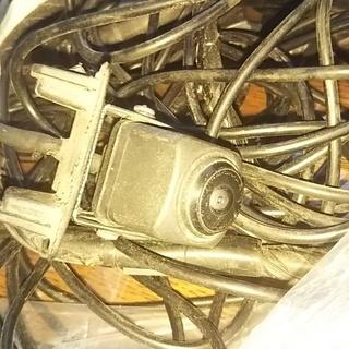 マツダデミオDJの社外品バックカメラ