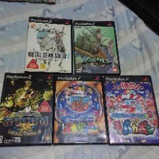 (終了)PS2ソフト 無料 バラ渡しok
