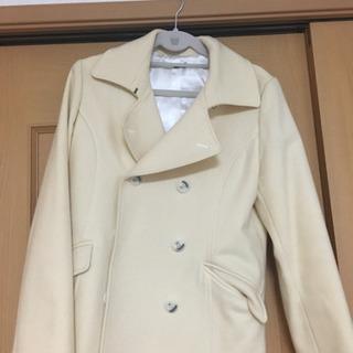 コート クリーム色 Lサイズくらい