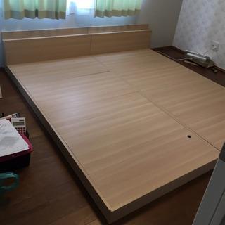 シングル×2サイズベッド ローベット