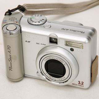 動作確認済 Canon キャノン PowerShot A70 単...