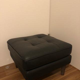 オットマン ブラック 椅子