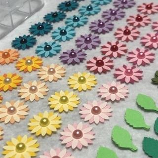 クラフトパンチ 花型🌸アレンジ ハンドメイド④