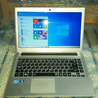 モバイル ノートパソコン Acer改83 Win10