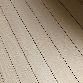 ウッドカーペット 4.5畳 団地間 ホワイト☆