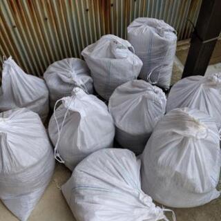 土のう袋 10袋あります。