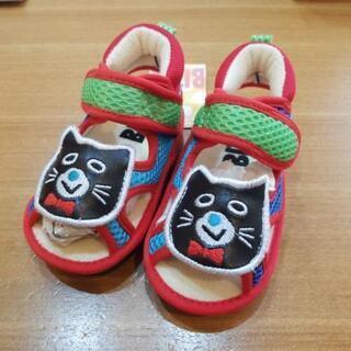 子供用 13センチ かわいい猫の靴☆新品