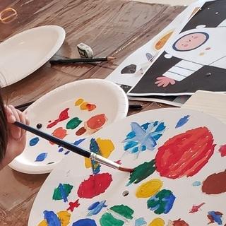 キッズの英語で学ぶアート教室 体験レッスン受付中 楽しくアートを...
