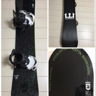 【シーズン到来】スノーボード有名ブランドセット